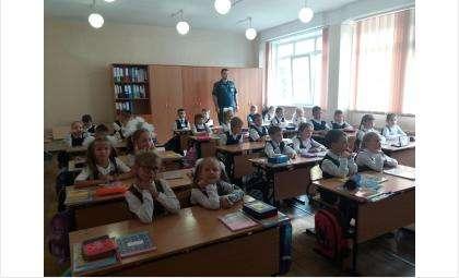 Школьников Бердска весь сентябрь учат безопасности