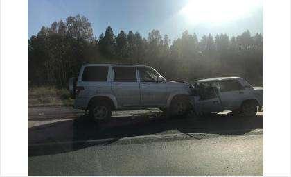 На трассе Р-256 в Искитимском районе в лобовом ДТП погиб человек