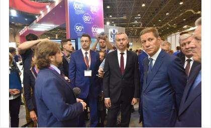 Международный форум Технопром-2019 начал работу в Новосибирской области