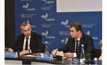 Губернатор на «Технопроме» одобрил включение двух новых проектов в программу реиндустриализации