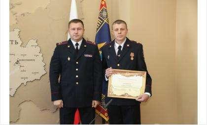 Алексей Огиенко получил почётную грамоту МВД