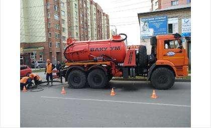 Сегодня илосос работал на ул. Первомайской