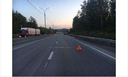 Пьяный водитель налетел на ограждение и врезался в попутку на трассе Р-256 в Бердске