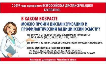 В Бердске 12 октября - городской день диспансеризации