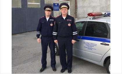 Роман Лущенков и Виктор Процкий преследовали и задержали пьяного водителя