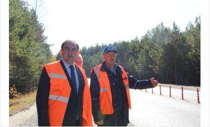 Министр транспорта и дорхоза Анатолий Костылевский посетил объект