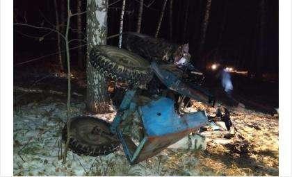 Тракторист без прав погиб при заготовке древесины в Искитимском районе