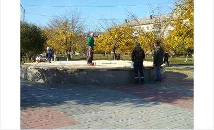 На зиму отключили фонтан «Желаний» в Бердске