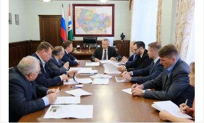 Новосибирская область заинтересована в реализации флагманского проекта обувного производства в Линёво