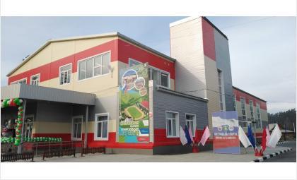 Многоцелевой спорткомплекс открылся в Сузунском районе по нацпроекту «Демография»