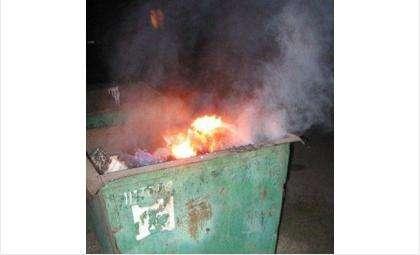 Мусор часто загорается из-за беспечности жильцов
