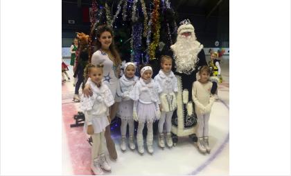 Наши воспитанники имеют возможность поучаствовать в новогоднем ледовом шоу