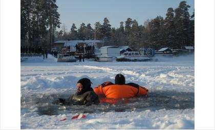 Водолазы могут долго держаться в холодной воде. Обычный человек моментально идёт ко дну