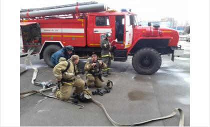 Пожар произошёл из-за неосторожного обращения с огнём