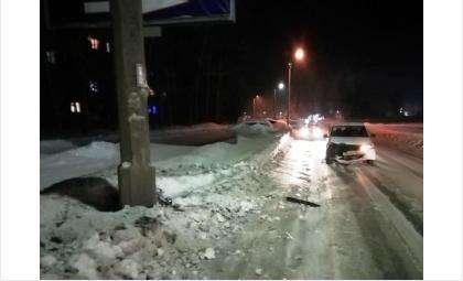 Машина разбита. Сам водитель не пострадал
