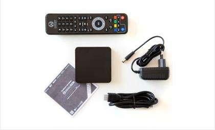 Это компактное устройство совместимо с любой моделью телевизора и любым провайдером