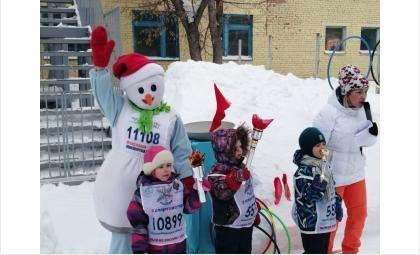 Малые зимние Олимпийские игры прошли в детсаду «Журавушка» в Бердске