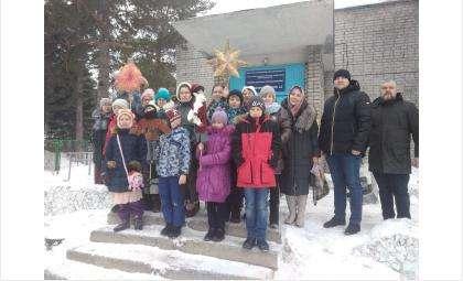Поздравили с Рождеством врачей и пациентов в бердских больницах