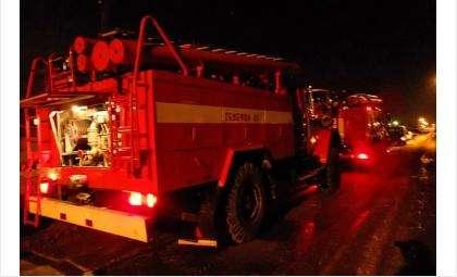 Ближайшее подразделение пожарной охраны находится в 15 км от места происшествия
