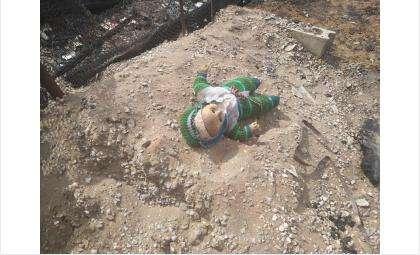 На пожаре погиб ребёнок
