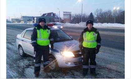 Лейтенант полиции Алексей Субботин и лейтенант полиции Артём Чернавин