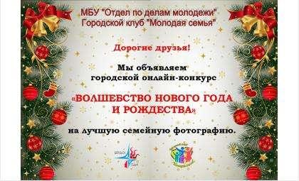 Конкурс семейных новогодних фото объявили в Бердске