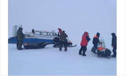 Бердские спасатели эвакуировали 7 человек с Новосибирского водохранилища
