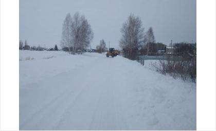 Дорогу к бердскому водозабору расчистили от снега