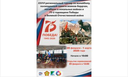 Турнир по волейболу памяти воинов-интернационалистов состоится в Бердске