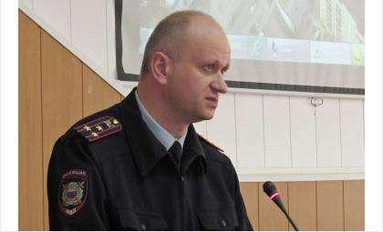 Начальник ОМВД Бердска Владимир Соколов рассказал о работе полиции