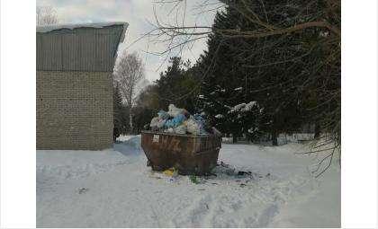 Проблемы с вывозом мусора зафиксированы в январе 2020 года