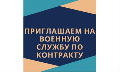 Жителей Бердска приглашают на военную службу по контракту