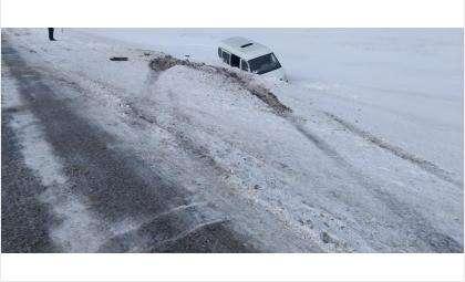 «Газель» слетела в кювет в Краснозерском районе - погиб ребенок, пострадали две женщины