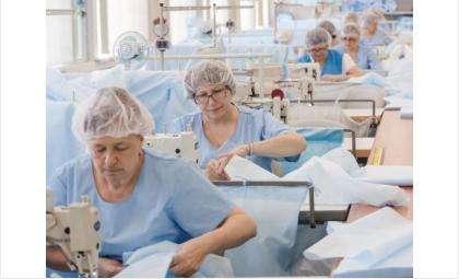 Один из инвестпроектов - реконструкция цеха по пошиву медицинской одежды