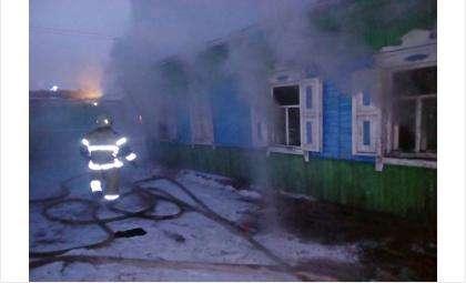 Три человека пострадали во время пожара в Искитиме