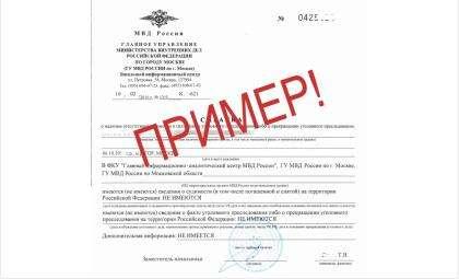 Справки об отсутствии судимости с 10 февраля перестали выдавать в МВД Бердска