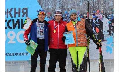 Победители VIP-забега среди мужчины - на 2 км
