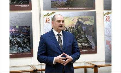 Замминистра культуры Новосибирской области Евгений Сазонов
