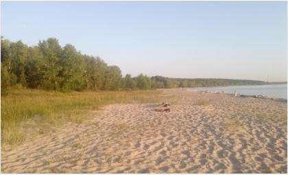 Нудистский пляж в новосибирском Академгородке