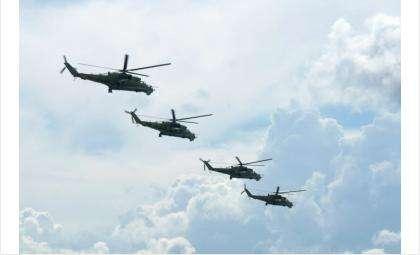 Ночью военные вертолёты будут летать над Бердском