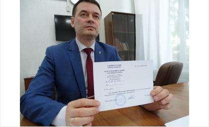 Вице-мэр Бердска Владимир Захаров имеет справку