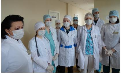 Войдет в историю борьбы с COVID-19 студотряд «Медицинский резерв» в Бердске