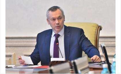 Андрей Травников предварительно встретился с промышленниками и строителями