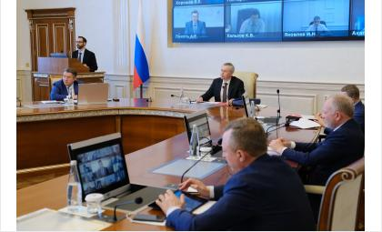 Заседание правительства Новосибирской области