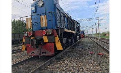 Горел тепловоз в 300 метрах от ж/д вокзала на искитимской станции Линёво