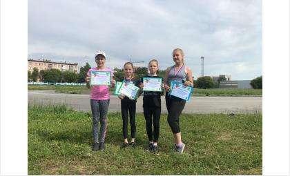 Бердчанки получили медали