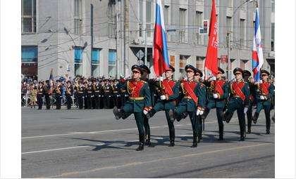 В Новосибирске уже готовятся к параду