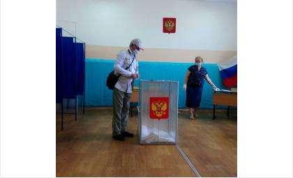 Жители Бердска голосуют по поправкам в Конституцию РФ
