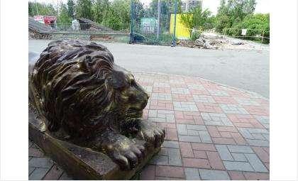 Бердский парк закрыт на реконструкцию