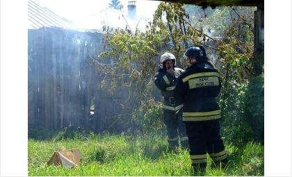Пожарные быстро справились с возгоранием